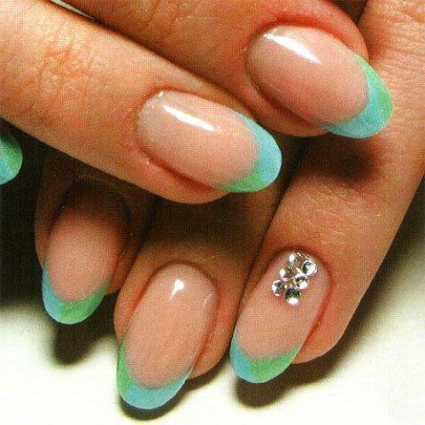 Фото ногтей нарощенных круглых