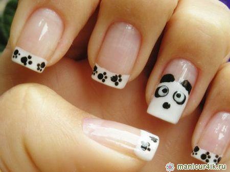 Дизайн квадратных ногтей (фото)