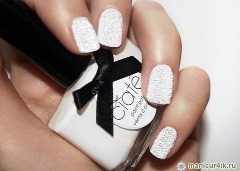 Фото дизайн ногтей белого цвета