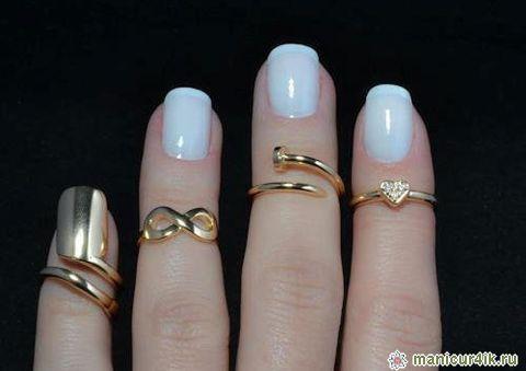 Кольца для ногтей: новый тренд в ногтевой моде