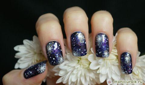 Художественная роспись ногтей пошагово - урок для 25
