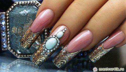 Дизайн ногтей арки