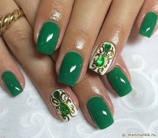 Дизайн ногтей жидкие камни фото