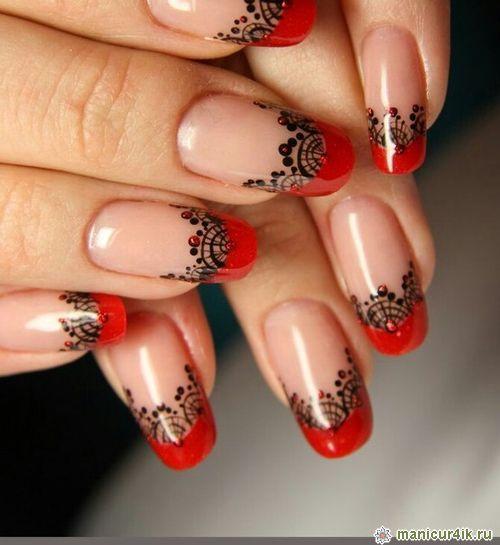 Готический дизайн ногтей в 102