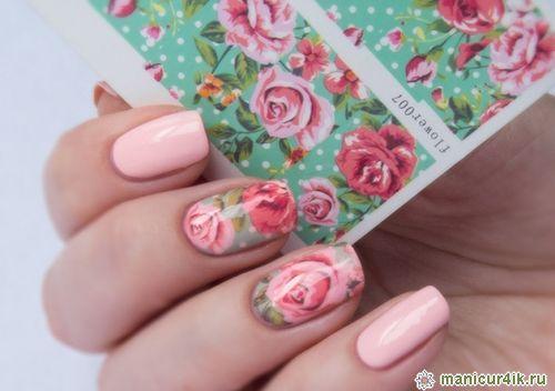 Фото дизайна ногтей роспись