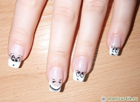 модный дизайн ногтей фото 2012: