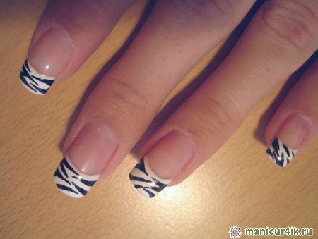 дизайн ногтей в красном цвете: