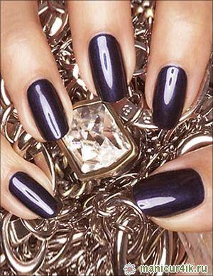 Зеркальный лак для ногтей