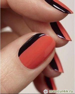 Фото дизайн овальных ногтей весна 2014