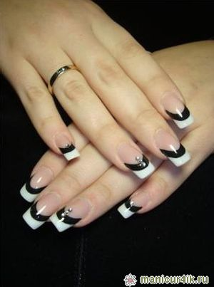 Ногти дизайн овал