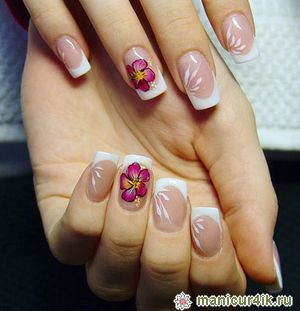 фото рисунки на квадратных ногтях