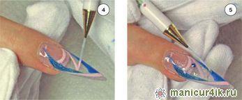 Дизайн ногтей фото слюда