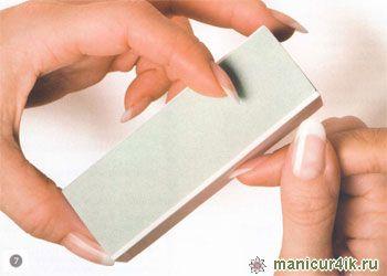 френч, моделирование ногтей