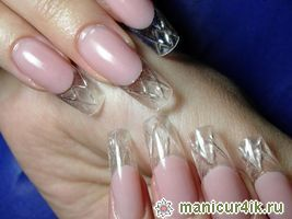 пышка: как наращивать ногти гелем на верхних формах