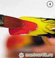 ногтевой дизайн, гель, акрил, варианты дизайна, техника выполнения