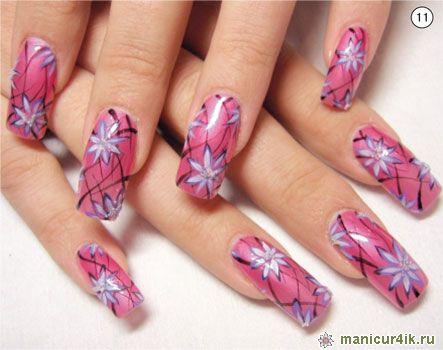 Несложный дизайн ногтей | Маникюр4ик ...: manicur4ik.ru/nogtevoj-dizajn/100-neslozhnyj-dizajn-nogtej.html